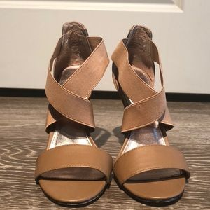 Worn once! New condition. Steve Madden heels